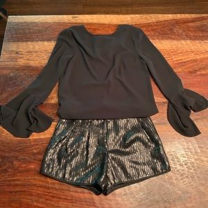 Adorable sequin shorts